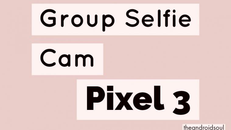 Group Selfie Cam feature