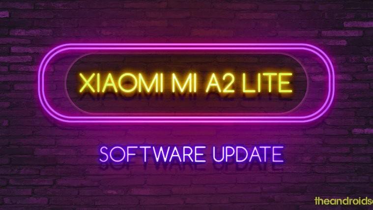 Mi A2 Lite software update