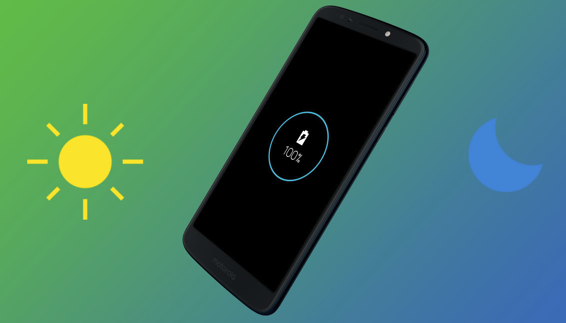 Moto G6 Play software update