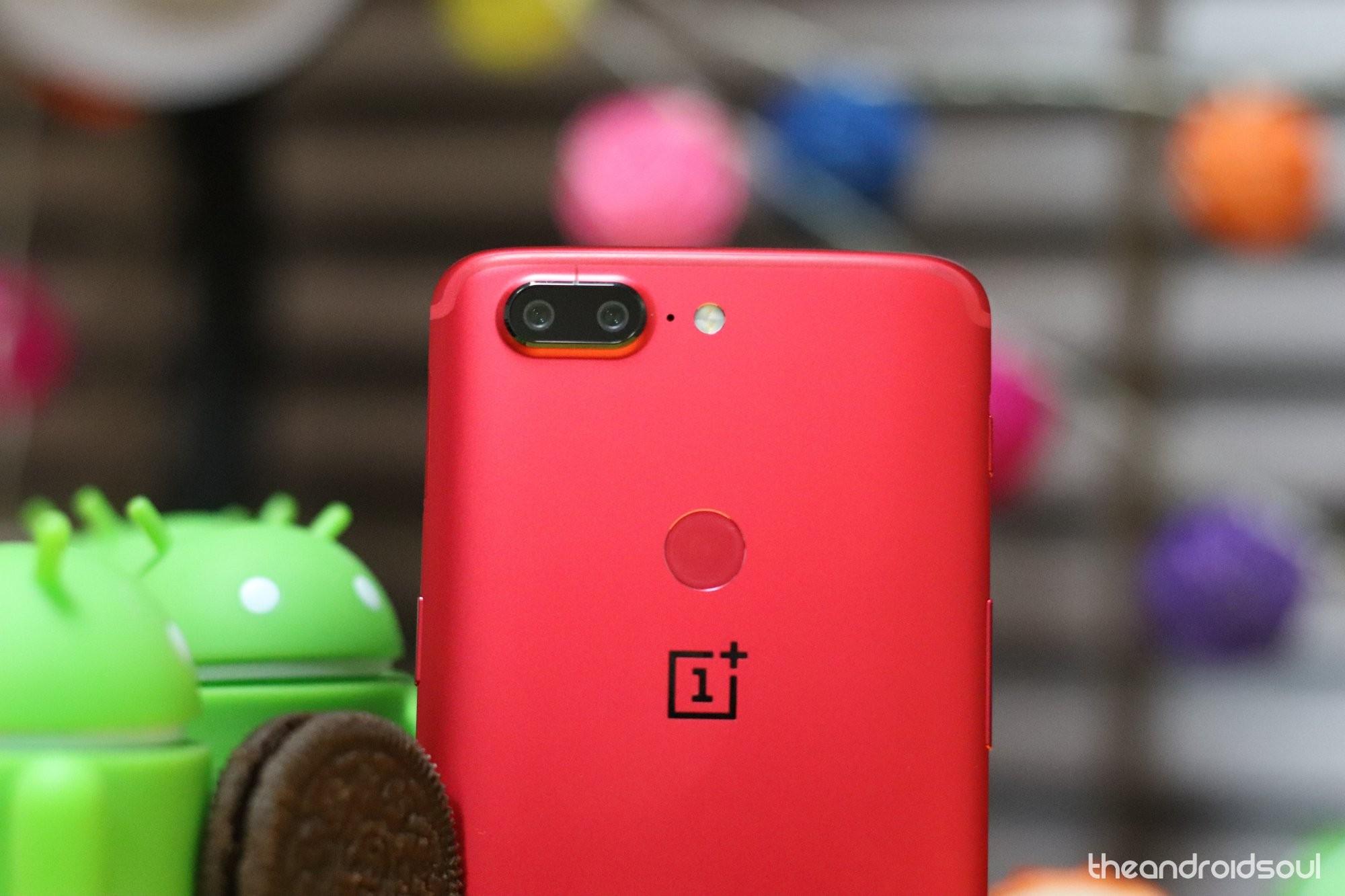 OnePlus 5T Pie update