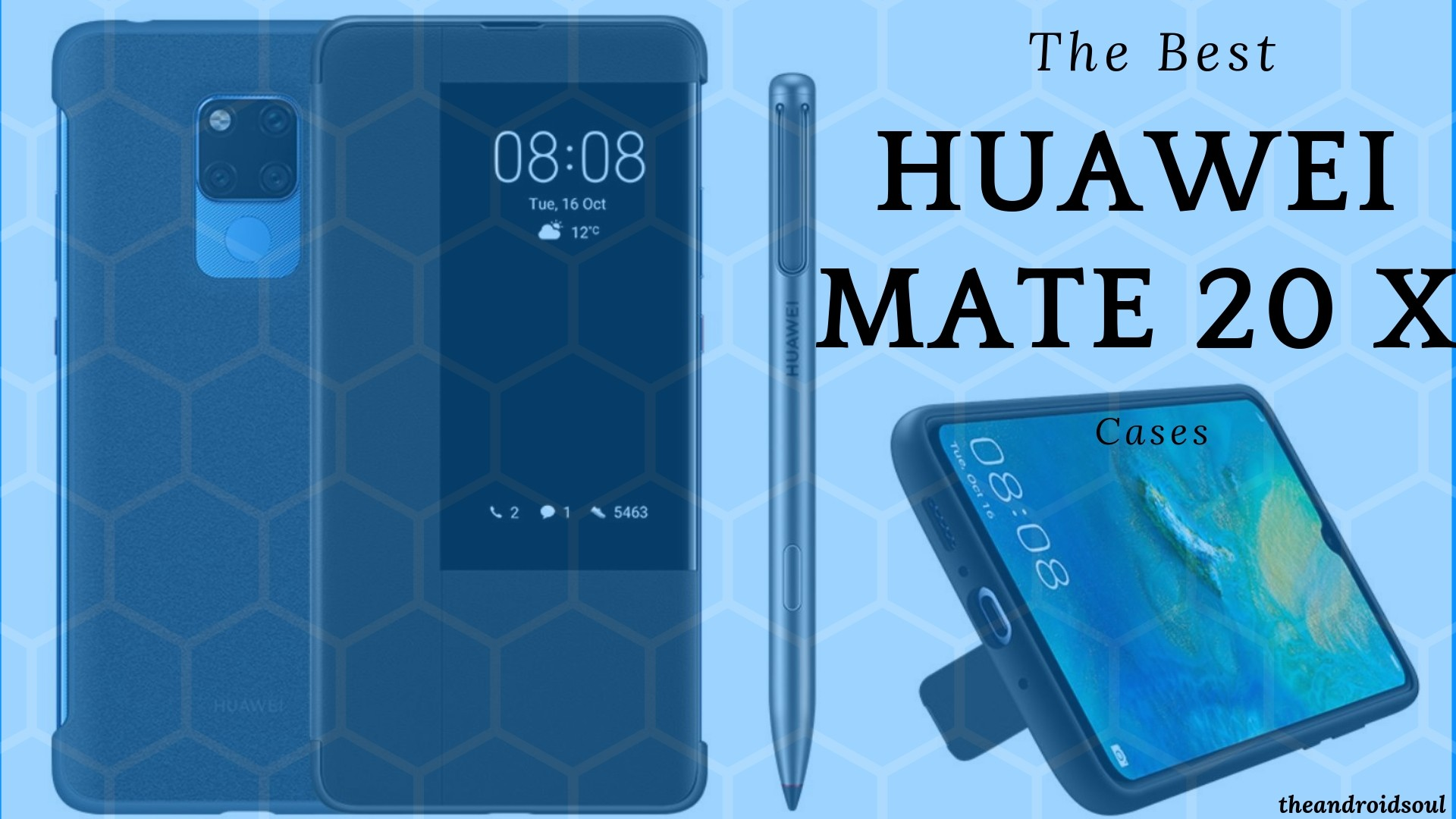 The Best Huawei Mate 20 X Cases