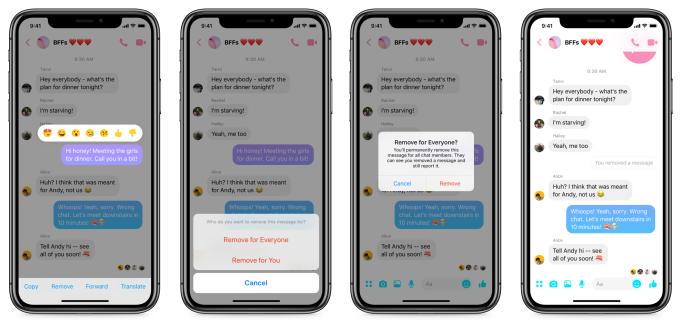 Como cancelar o envio de mensagens no aplicativo Facebook Messenger