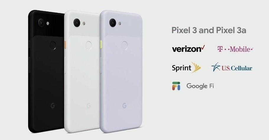 Google Pixel 3a carriers-1