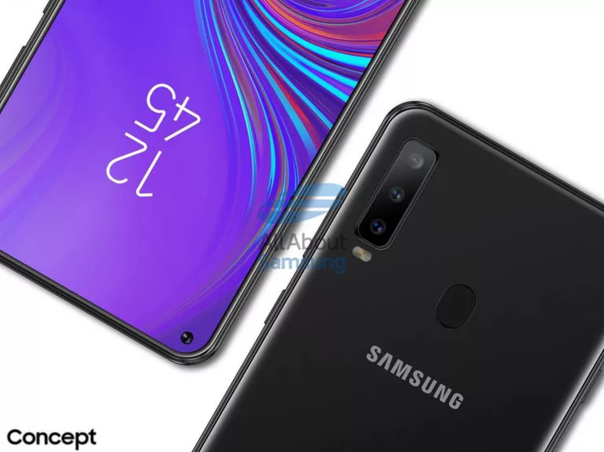 Galaxy A8s specs leaked