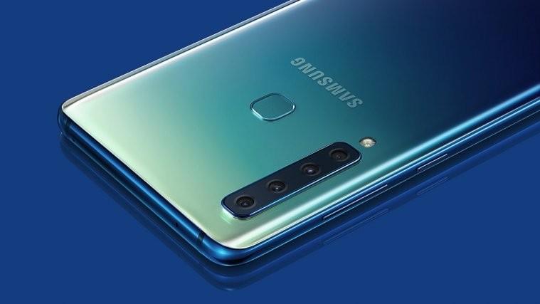 Samsung Galaxy A9 2018 smartphone