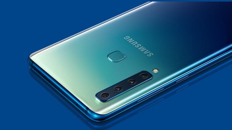 Samsung Galaxy A9 with four rear cameras
