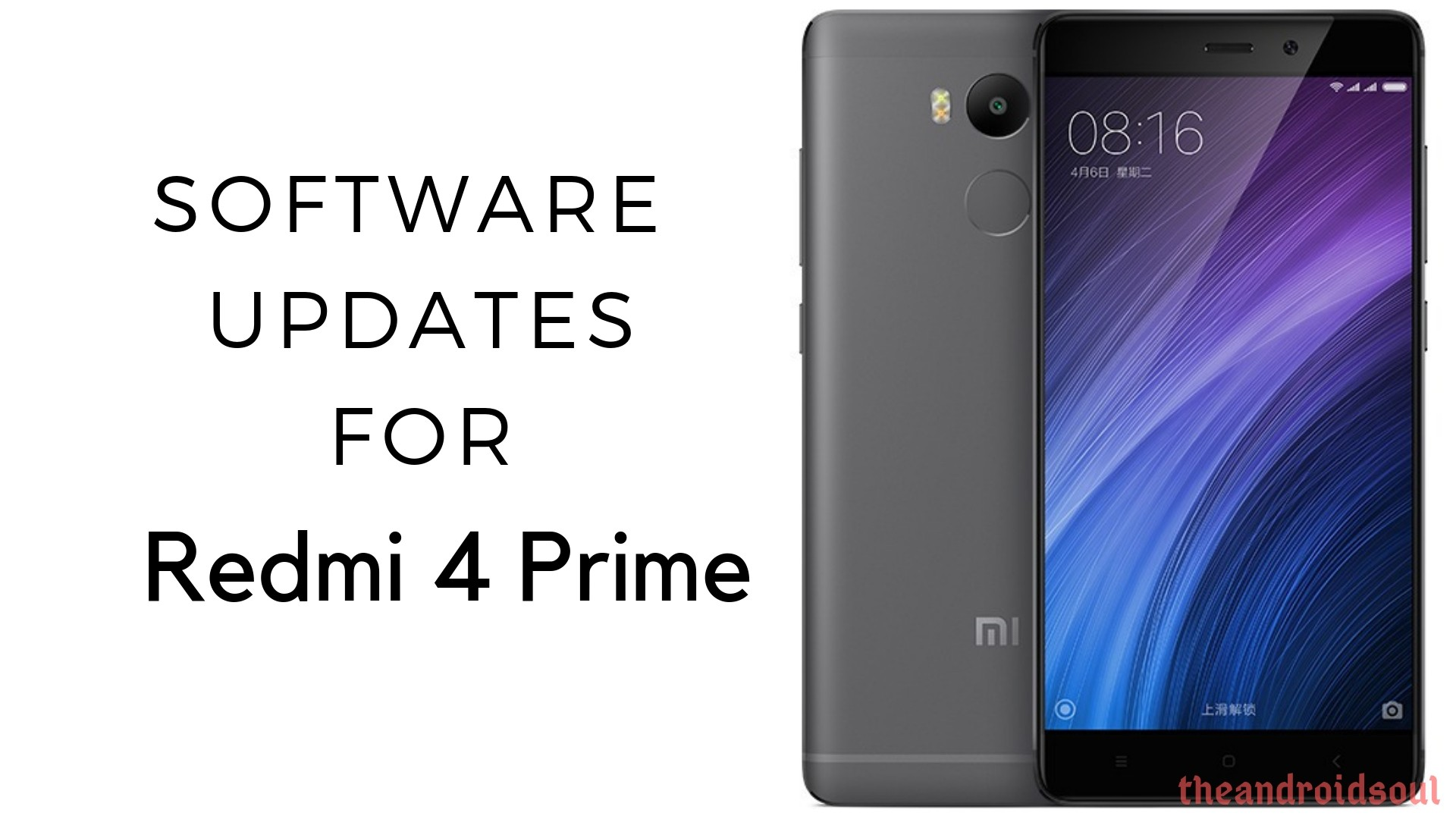 Xiaomi Redmi 4 Prime software updates