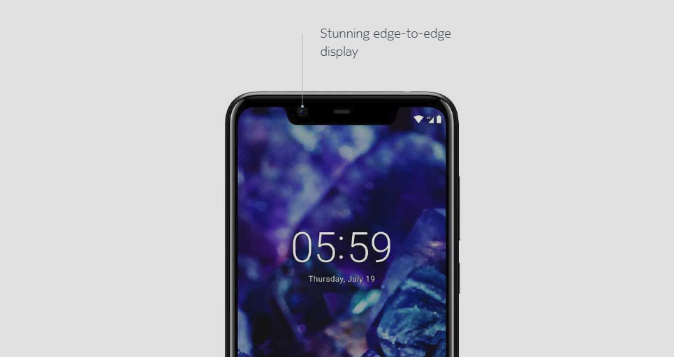 Nokia 5.1 Plus Android 9 Pie
