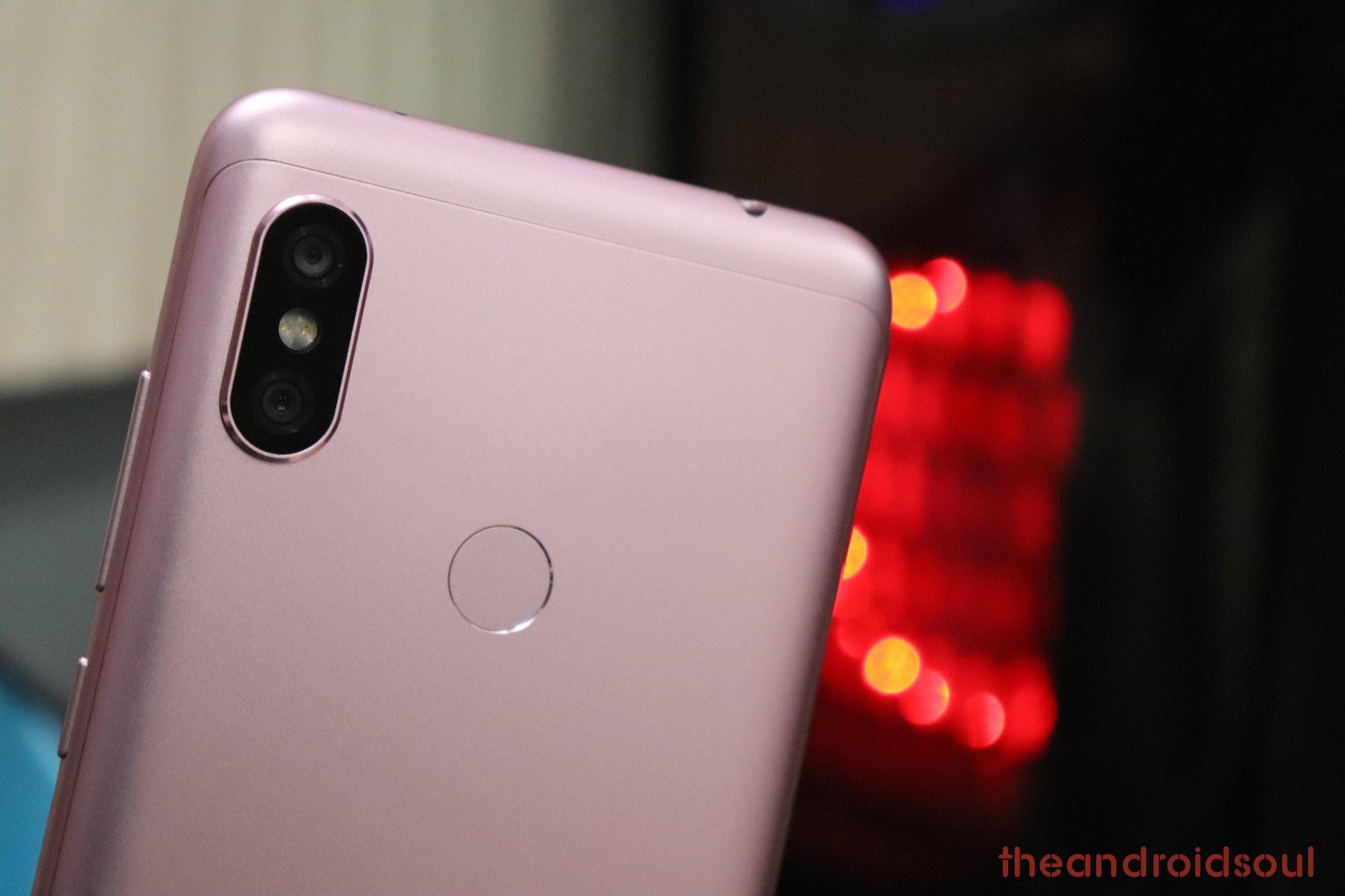 Redmi Note 6 Pro OTA update