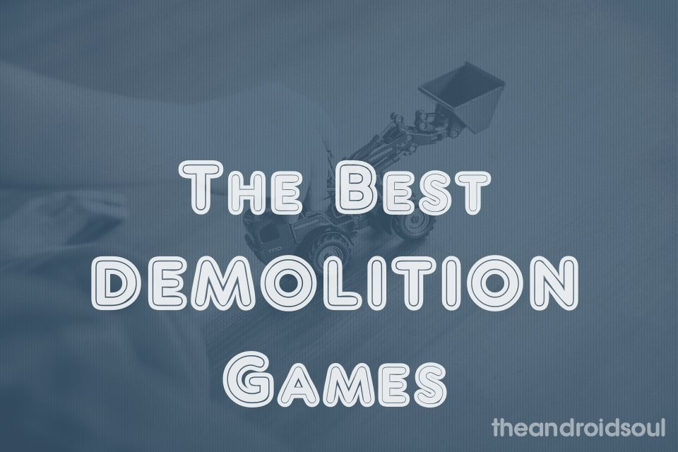 best demolition games android