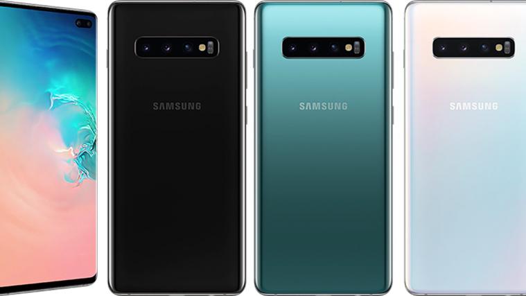 Samsung Galaxy S10 Plus colors