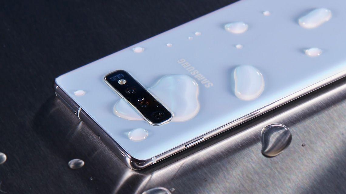 Galaxy S10 waterproof