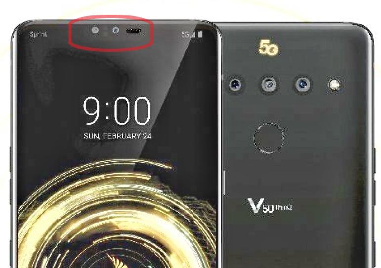LG V50 ThinQ leak