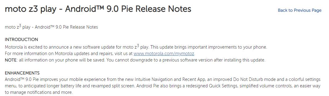 Moto Z3 Play Pie update (2)