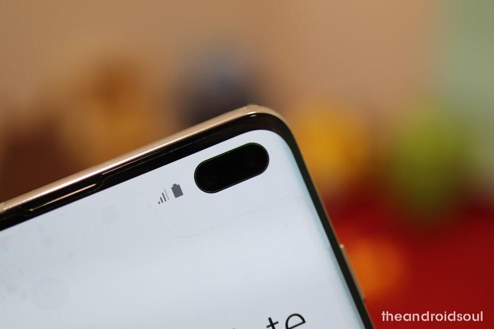 Galaxy S10 Selfie Flip