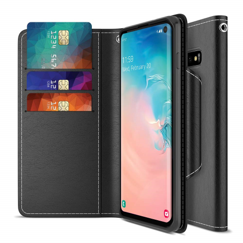 S10 leather and wallet case 05