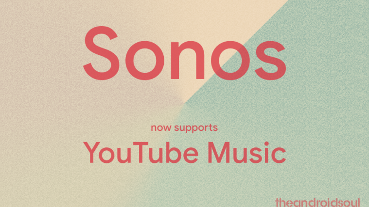 Sonos YouTube music support