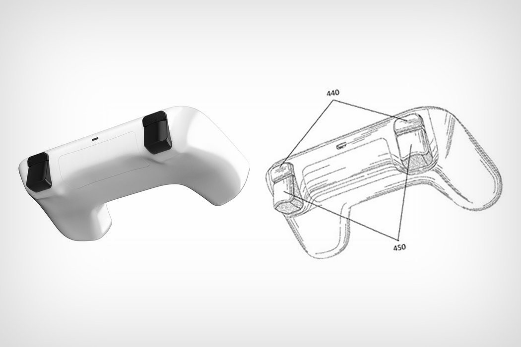 Google Gamepad patent and render (2)