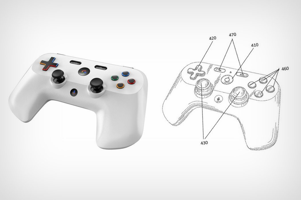 Google Gamepad patent and render