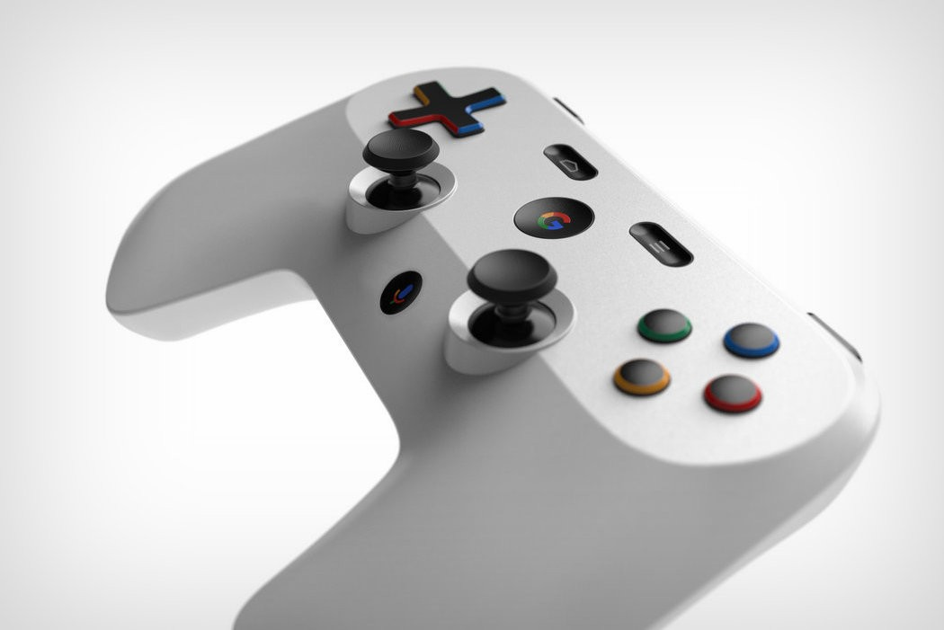 Google Gamepad render