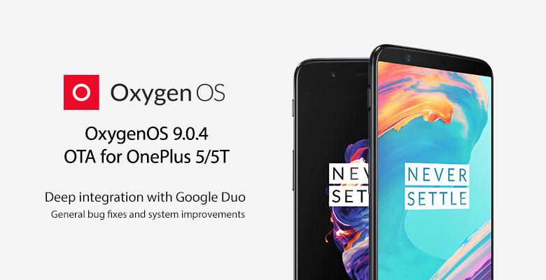 OxygenOS 9.0.4