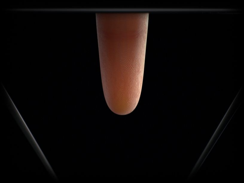 Samsung Galaxy S10 ultra-sonic fingerprint scanner