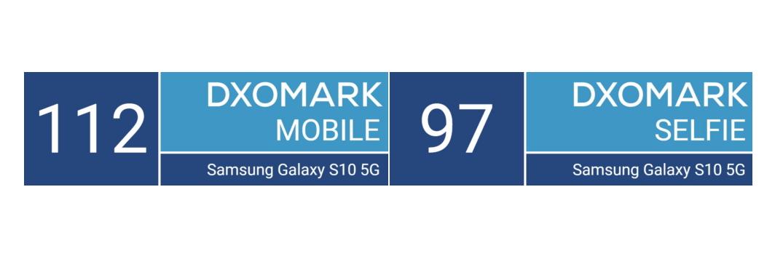Galaxy S10 5G DXOMark test
