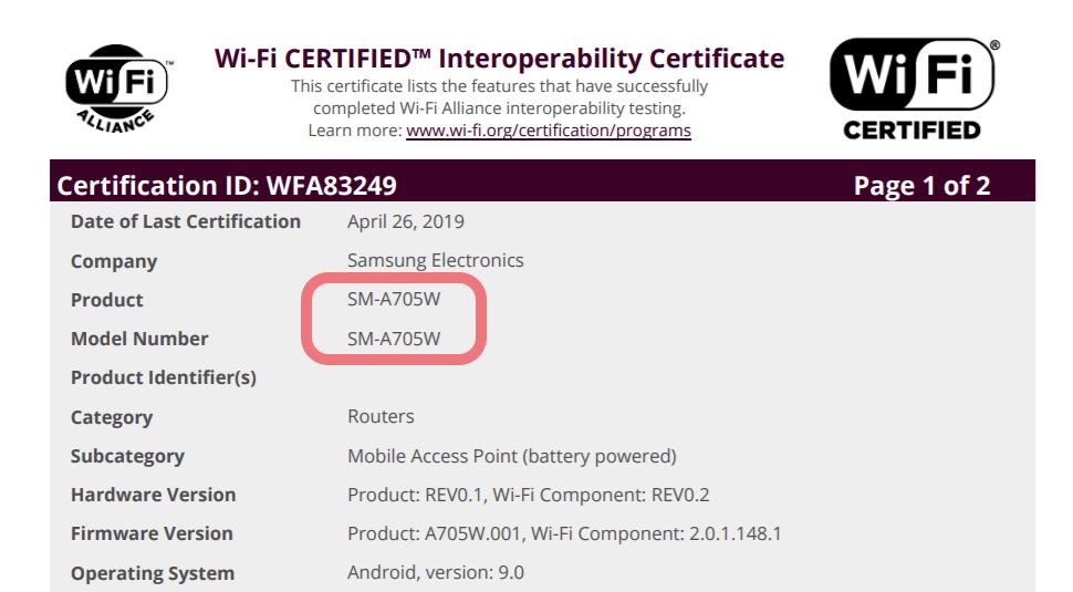 Samsung Galaxy A70 será lançado no Canadá em breve