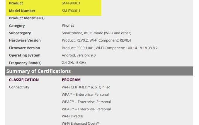 Samsung Galaxy Fold US unlocked