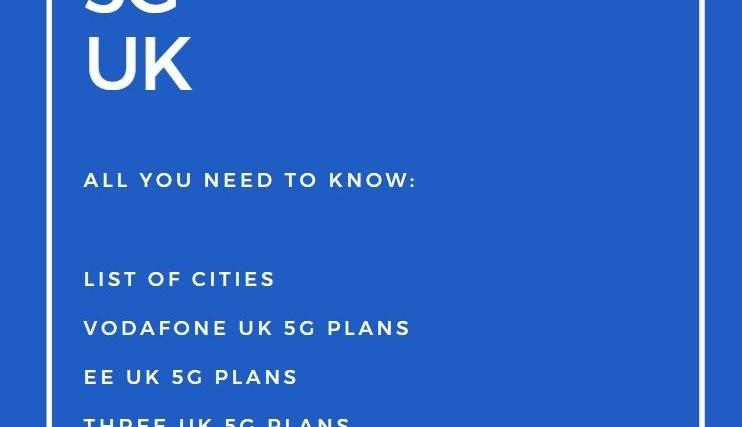 5G UK release date city list