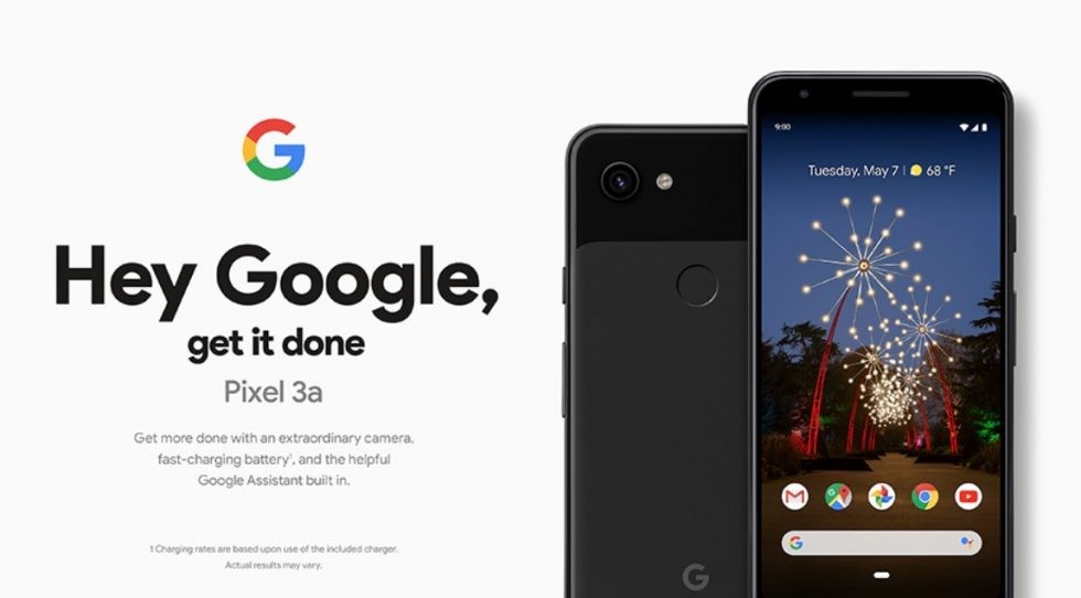 Leaked official Google Pixel 3a promo material