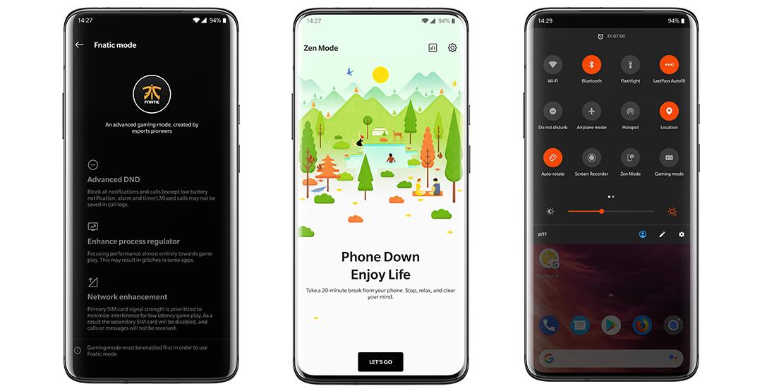 OnePlus 7 Pro screen recorder