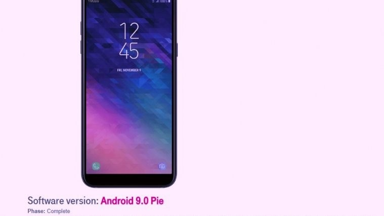 T-Mobile A6 Android 9 Pie