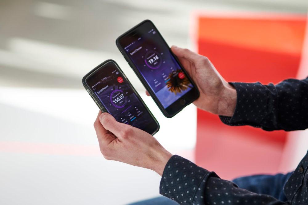 Vodafone UK 5G vs 4G LTE