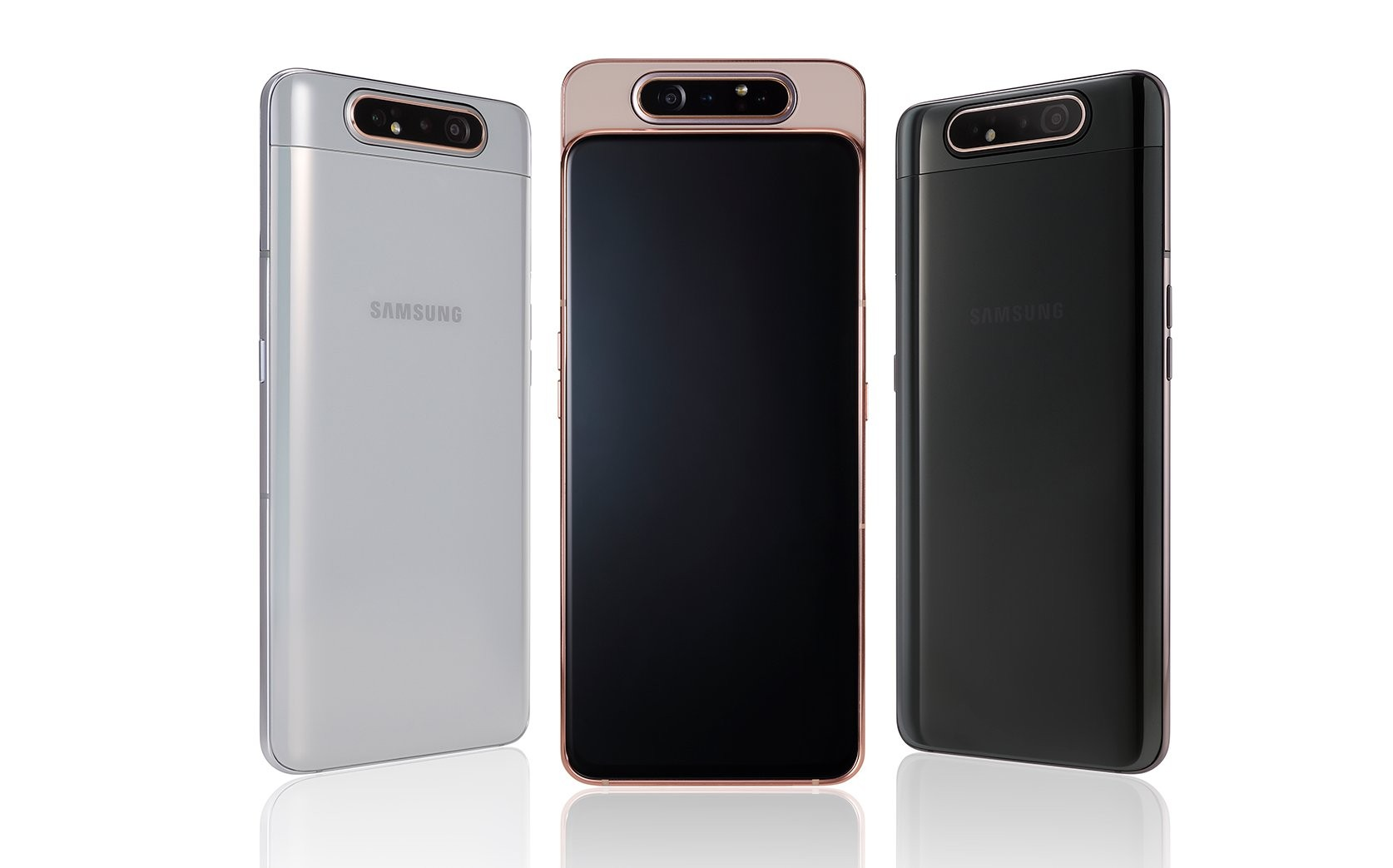 Galaxy A80 Android Q update