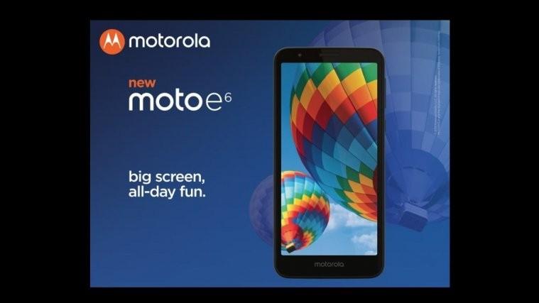 Moto E6 launch US Canada
