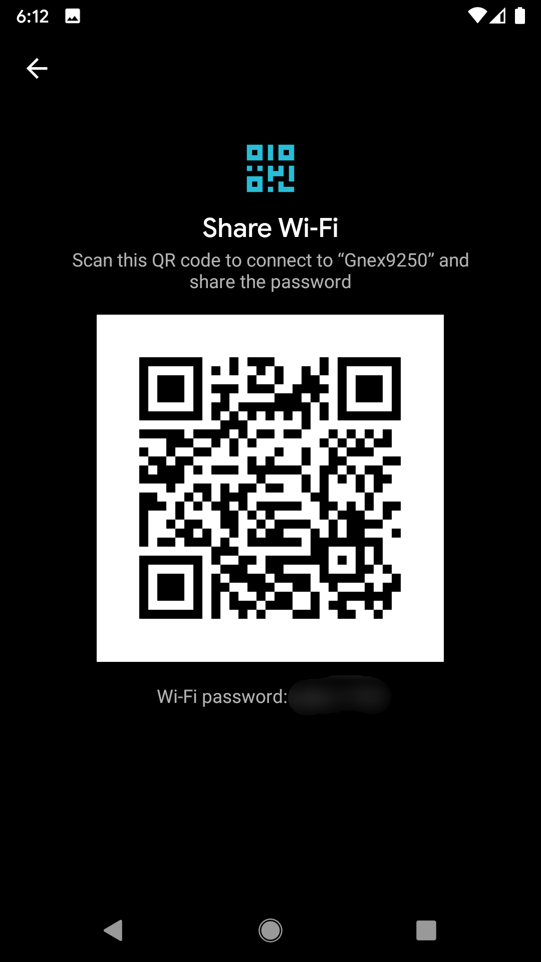 Android 10 Wi-Fi password sharing via QR code