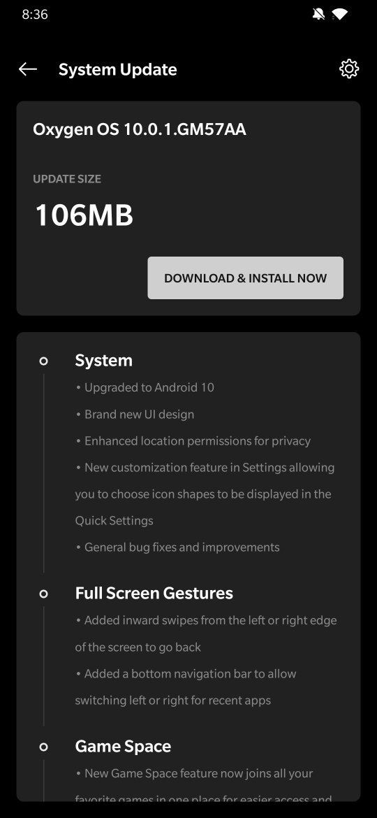 OnePlus 7 Pro Android 10 rollout
