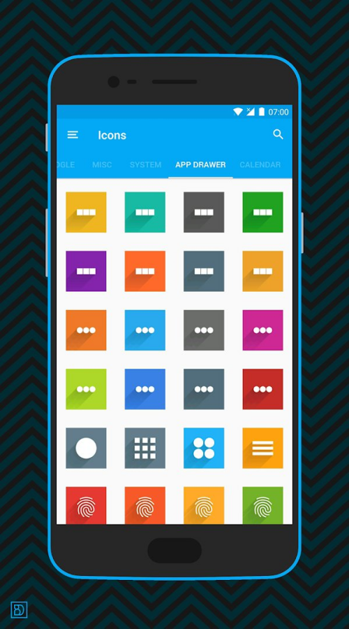 Square icon pack 07
