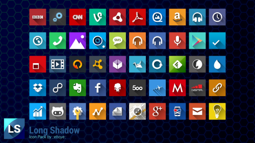 Square icon pack 12