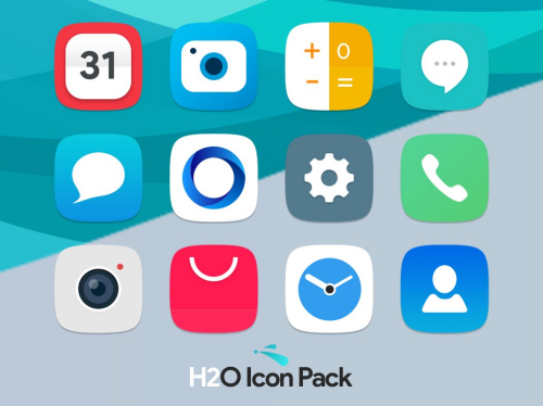 Square icon pack 30