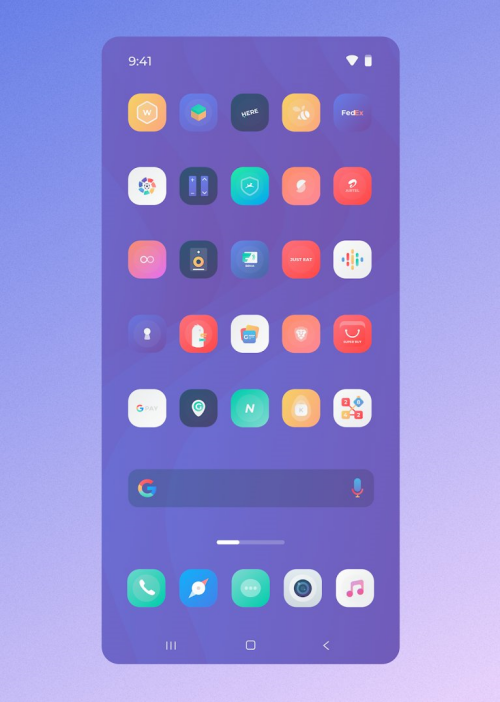 Square icon pack 38