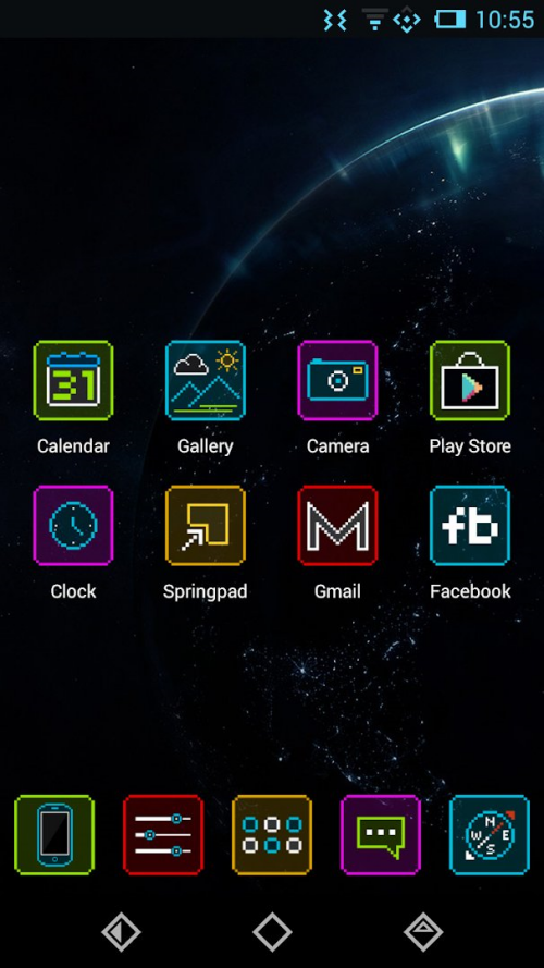 Square icon pack 40