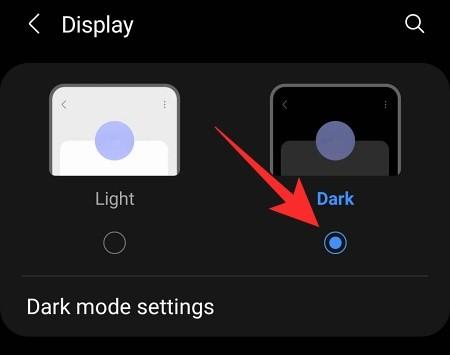Cómo ir de negro en Android