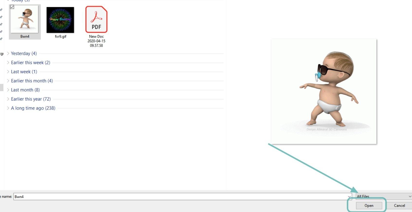 Cómo utilizar el GIF para el fondo del Zoom