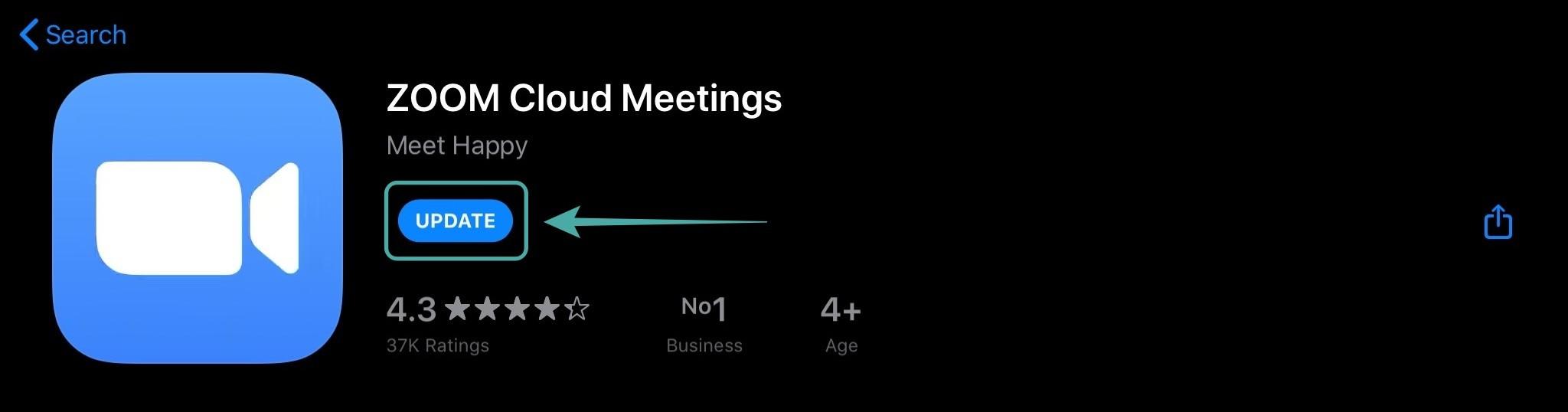 Update Zoom Di IPhone Atau Ios