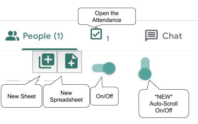 Google Meet Attendance Chrome extension