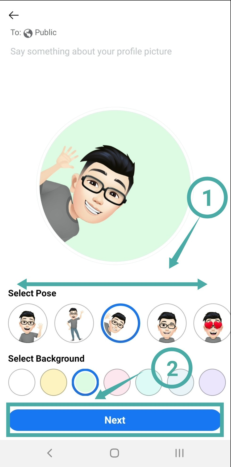 Profile facebook picture generic How To