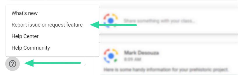 Como corrigir o problema de desaparecimento do stream do Google Sala de aula