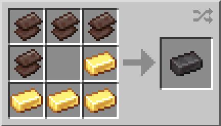 Minecraft Netherite Ingot Recipe